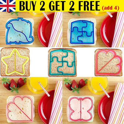 £3.69 • Buy Kids DIY Lunch Sandwich Toast Cookies Mold, Cake Bread Biscuit Food Cutter Mould