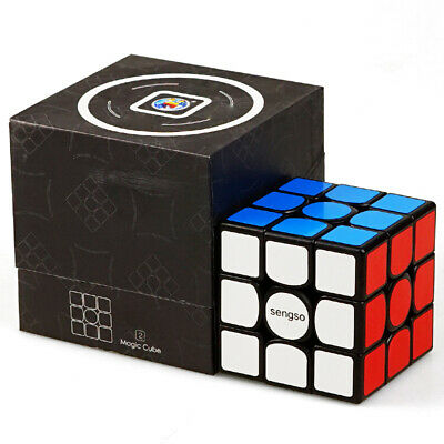 £4.92 • Buy New 3x3x3 Ultra Fast  Cube Magic Rubic Mind Brain Puzzle Kid Gift Adult Toy