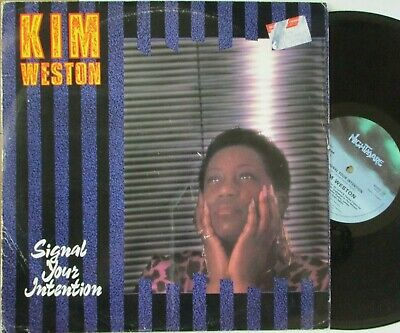 £5.09 • Buy KIM WESTON ~ Signal Your Intention ~ 12  Single PS