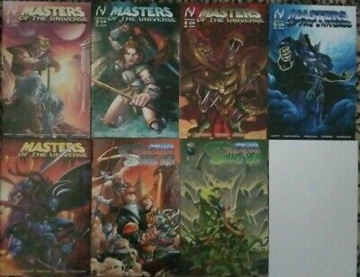 $39.99 • Buy Masters Of The Universe #2 3 4 5 6 & Rise Of The Snake Men #2 3 MVCREATIONS