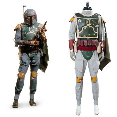 $187.27 • Buy Star Wars Boba Fett Cosplay Outfit Costume Carnival Suit Halloween  Uniform