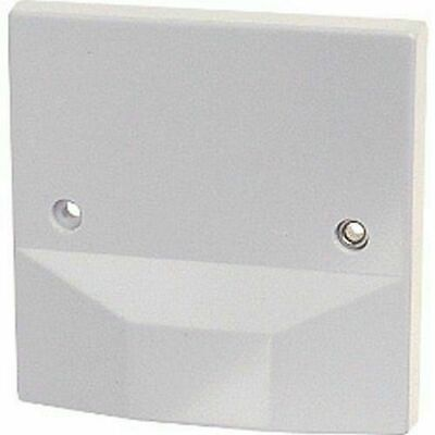 £6.97 • Buy Cooker Outlet Plate Connection Cover White Blank Front 45A 45Amp Oven Hob Square