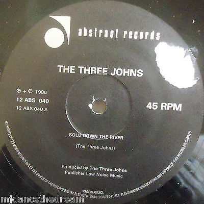 £3.99 • Buy THE THREE JOHNS ~ Sold Down The River ~ 12  Single