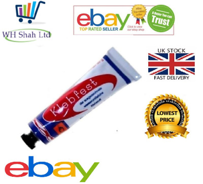 £2.99 • Buy Shoe Repair Glue Klebfest Diy Contact Adhesive Supplies Leather Strong