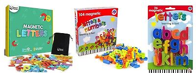 £5.99 • Buy Magnetic Numbers And Letters Learning Toy Perfect For Educational Fridge Magnets