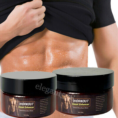 £11.39 • Buy 2 Pack Slimming Cream Fat Burning Muscle Weight Loss Body Sweat Enhancer Abs Gel