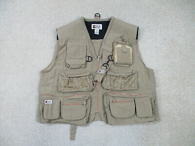 $28.88 • Buy Stream Designs Vest Adult Extra Large Brown Fishing Outdoors Hunting Mens