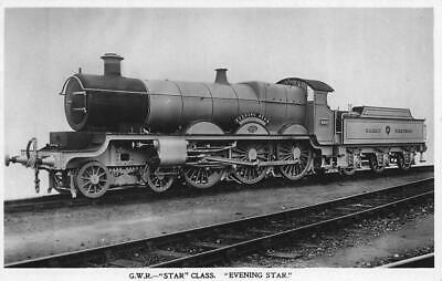£3 • Buy Great Western Railway Star Class Evening Star Rp Gwr Official Postcard