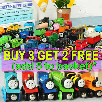 £3.59 • Buy The Tank Engine Take N Play Wooden Magnetic Train Railway Carriages Car Toys