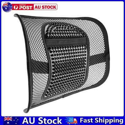 AU16.12 • Buy Car Seat Massage Back Support Mesh Waist Lumbar Support For Office Chair AU