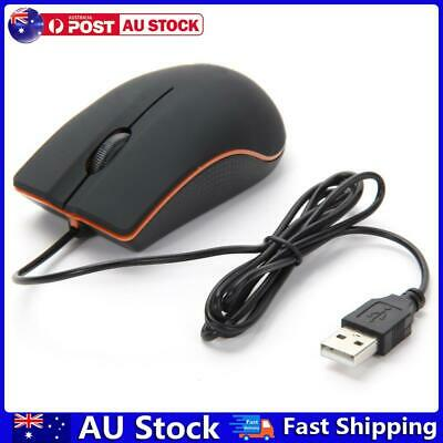 AU9.58 • Buy USB 3D Wired Optical Mini Mouse Mice For PC Laptop Computers Black AU