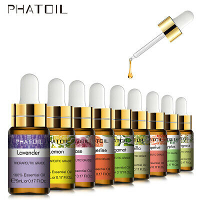 AU1.75 • Buy PHATOIL 5ml Essential Oils 100% Pure Natural Aromatherapy Oil Undiluted 37 Aroma