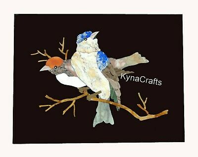 AU485.67 • Buy 18 X 24  Marble Wall Highlighter Beautiful Bird Design Coffee Table Top For Home