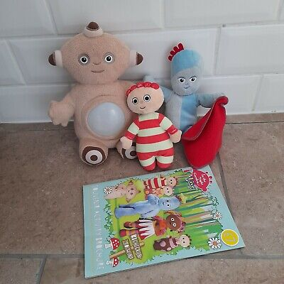 £6.50 • Buy In The Night Garden Soft Toys Macca Pacca, Iggle Piggle, Tombliboo & Book