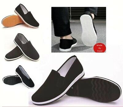 £10.99 • Buy Chinese Kung Fu Shoes Tai Chi Men Breathable Non Slip Work Cloth Shoes