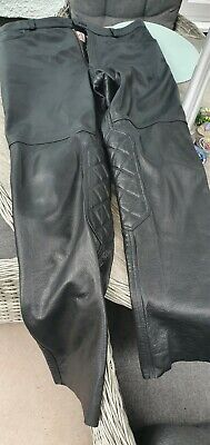 £50 • Buy Triumph Leather Motorcycle Trousers