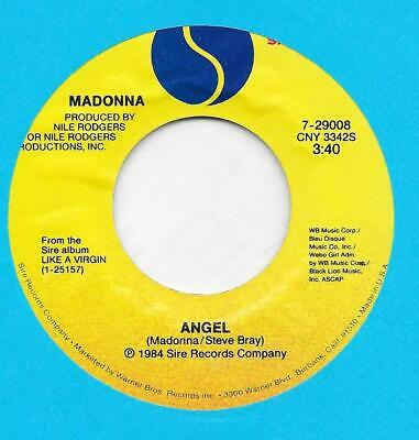 £2.50 • Buy Madonna Angel Long And Short Versions 45 Rpm Record