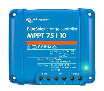 £76.98 • Buy Victron Energy BlueSolar MPPT Charge Controller 75/10