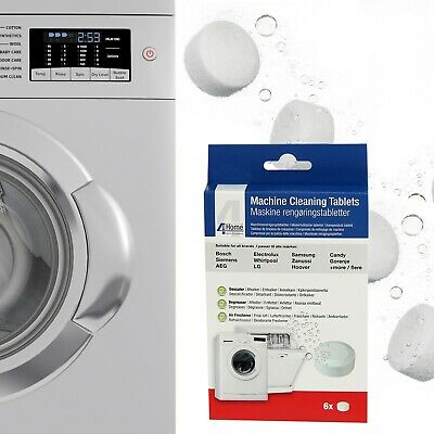 AU38.45 • Buy Washing Machine & Dishwasher Cleaning, Descaling Tablets For Hoover, Candy X 6
