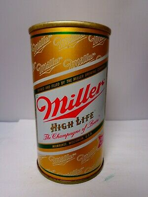 $8 • Buy Miller High Life Ss Pull Tab Empty Beer Can #94-17  Wisconsin