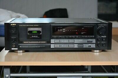 £758.79 • Buy AIWA EXCELIA XK-009 CASSETTE DECK – Dolby B/C – Dbx - Fully Functional