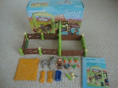 £10 • Buy Playmobil 70120 DreamWorks Spirit, Snips And Señor Carrots With Horse Stall