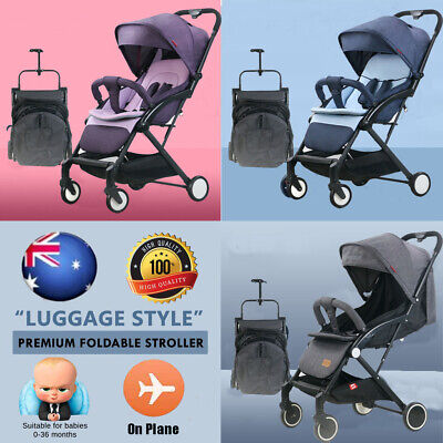 AU99.77 • Buy New 2021 Lightweight Compact Baby Stroller Pram Easy Fold Travel Carry On Plane
