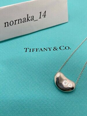 £61.18 • Buy TIFFANY & Co Sterling Silver 925 Large Bean 20mm Pendant No Box