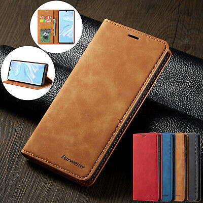 £2.95 • Buy Luxury Leather Wallet Flip Phone Case Cover For Huawei P30 Lite P20 Mate 20 Pro