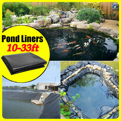 £22.79 • Buy 3 Sizes Fish Pond Liner Gardens Pools HDPE Membrane Reinforced Landscaping New