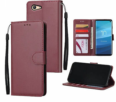 AU10.50 • Buy Oppo A59 F1s Leather Wallet Case Silky Finish 3 Card 1 Pocket