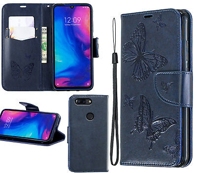 AU10.95 • Buy Oneplus 5T Wallet Case Embossed Pu Leather Twin Butterfly
