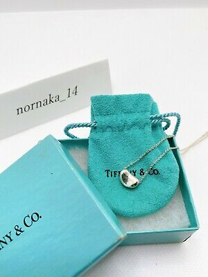 £68.37 • Buy 【MINT】TIFFANY & Co Sterling Silver 925 Small Bean Pendant With Box
