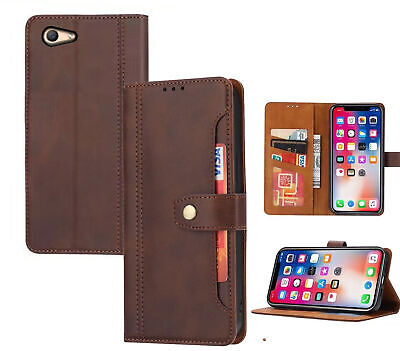 AU8.50 • Buy Oppo A59 F1s Pu Leather Wallet Case Front Pocket Magnetic Closure