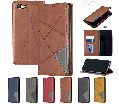 AU8.50 • Buy Oppo A59 F1s Pu Leather Slim Flip Case Patterned Collage Style