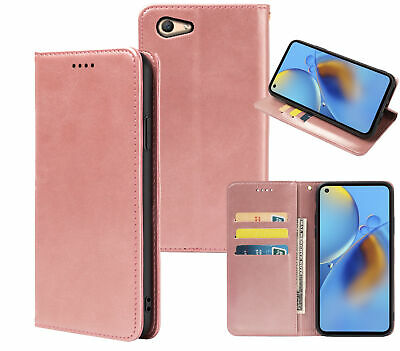 AU7.90 • Buy Oppo A59 F1s Pu Leather Slim Flip Case Concealed Magnet
