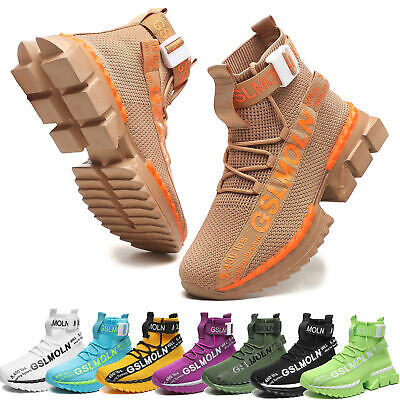 $30.99 • Buy Men's Fashion Athletic Sneakers Sports  Outdoor Casual Running Tennis Shoes Gym