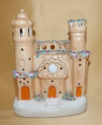 £12 • Buy Staffordshire Figure Of A Castle With A Clock C1845-50