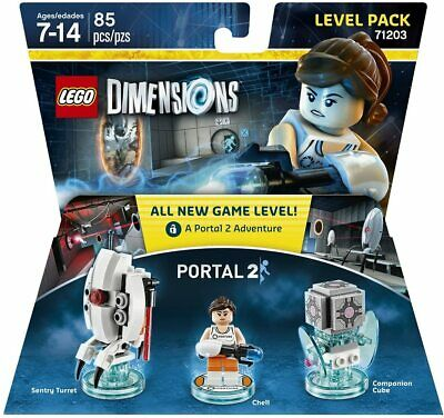 £36.97 • Buy Lego Dimensions - Portal 2 - Level Pack 71203 Sentry Turret Chell Companion Cube