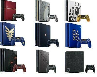 AU910.77 • Buy Sony PlayStation 4 ,PS4 Pro 500GB 1TB Limited Edition Choice Console Used JAPAN