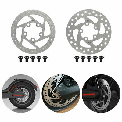 $10.12 • Buy For Xiaomi Mijia M365 Electric Scooter Customize Brake Disc 110/120Mm Rear Wheel