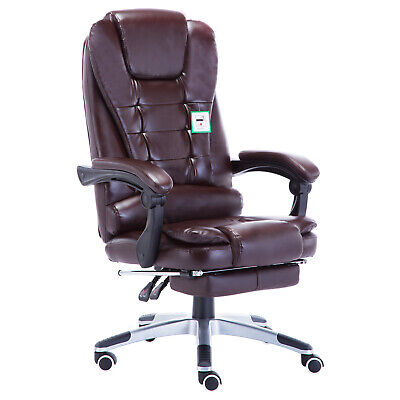 £99.99 • Buy JR Knight Office Gaming Chairs Swivel Leather Computer Chair Home Office PU Seat
