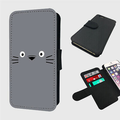 £9.97 • Buy TOTORO CUTE LITTLE FACE - Flip Phone Case Cover - Fits Iphone / Samsung