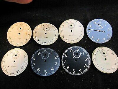 $32.95 • Buy Large Lot Of 16s Waltham WWII Military Timer Stopwatch Pocket Watch Dials