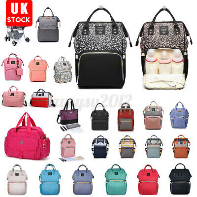 £9.89 • Buy UK Mom Baby Diaper Nappy Mummy Changing Tote Backpack Hospital Bag Multi-Use