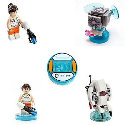 £19.97 • Buy Lego Dimensions Level Pack 71203 Portal 2 Chell Companion Cube Sentry Turret