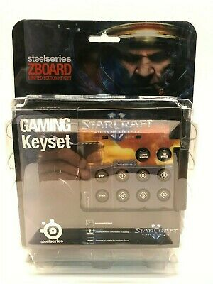 £19.09 • Buy Steelseries Starcraft 2 - Limited Edition Keyset For Zboard Pc - New Sealed