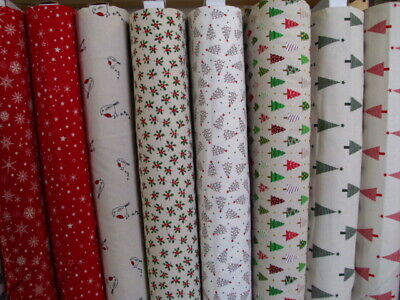 £4 • Buy Christmas Fabric Range In Scandi Prints 100% Cotton Ideal For Patchwork