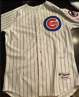 $75 • Buy Alfonso Soriano Chicago Cubs Authentic Majestic Jersey 48