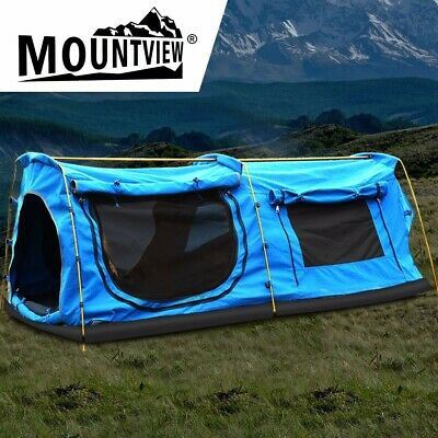 AU180 • Buy Mountviewe Dome King Camping Swag Swags Mattress Canvas Tent Kings Hiking Daddy